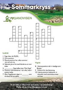Yoganovisen Sommarkryss 1 baksida